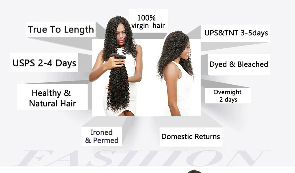 cheap virgin brazilian Curly hair