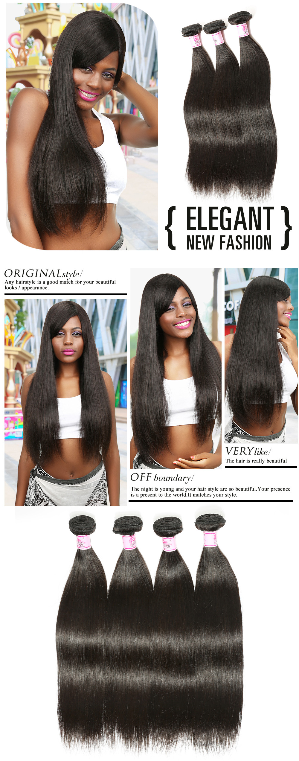 Indian Straight Hair wave