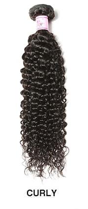 curly hair