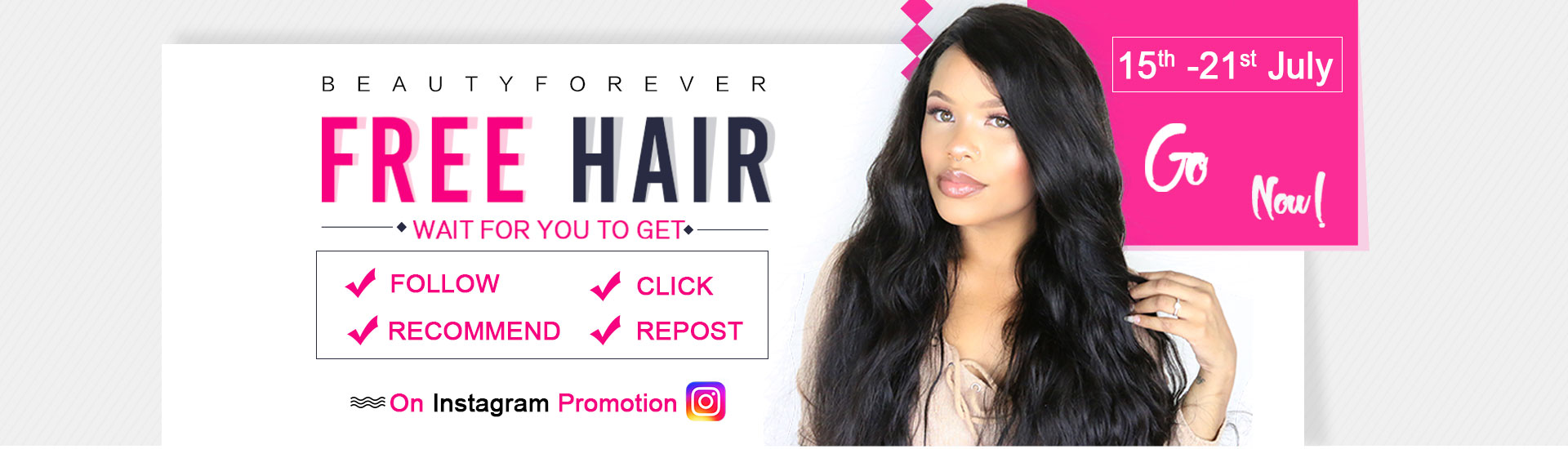 human hair promotion
