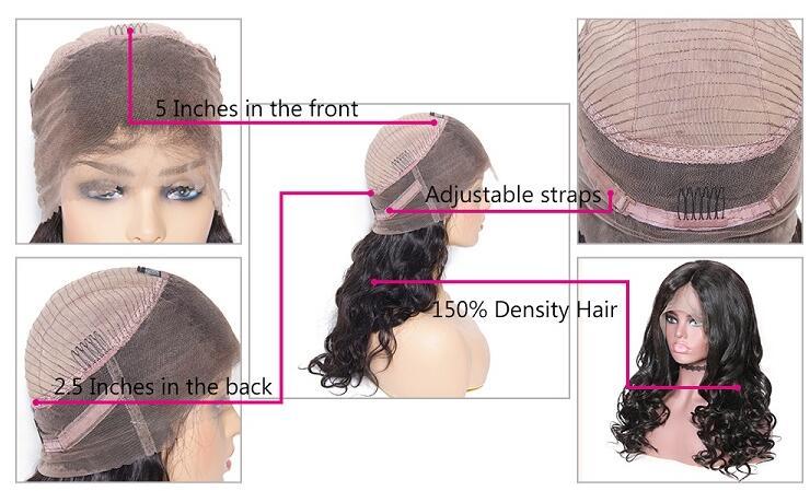 360 human hair wigs