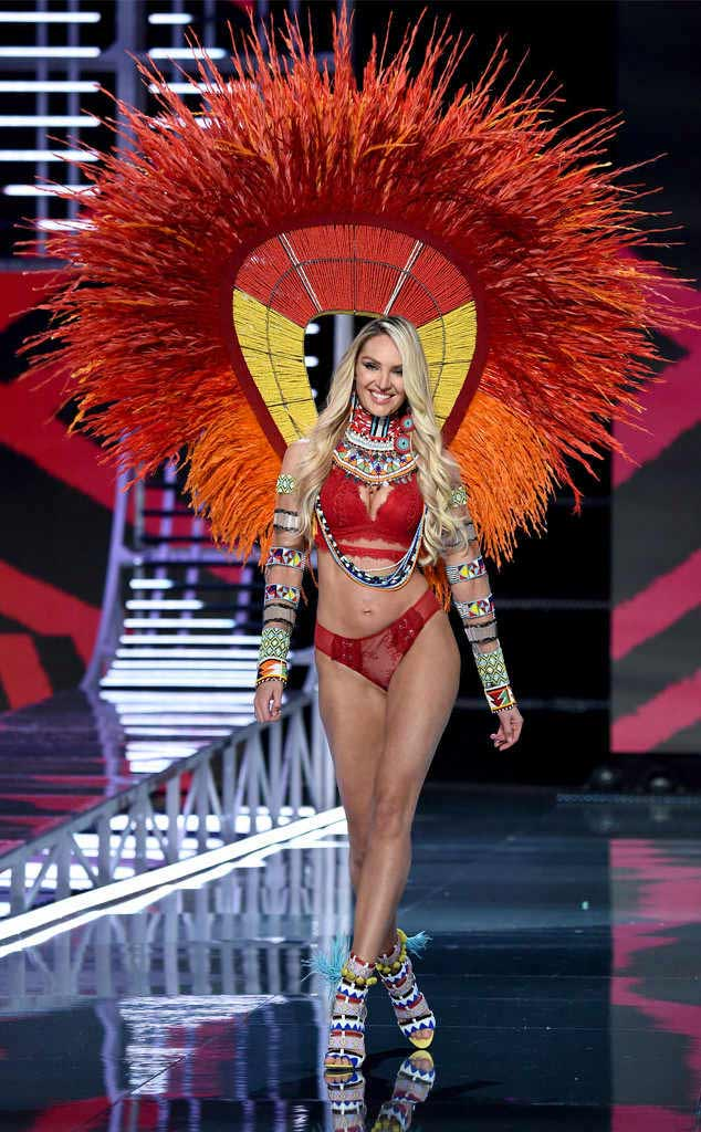 2017 Victoria secret fashion show CANDICE SWANEPOEL