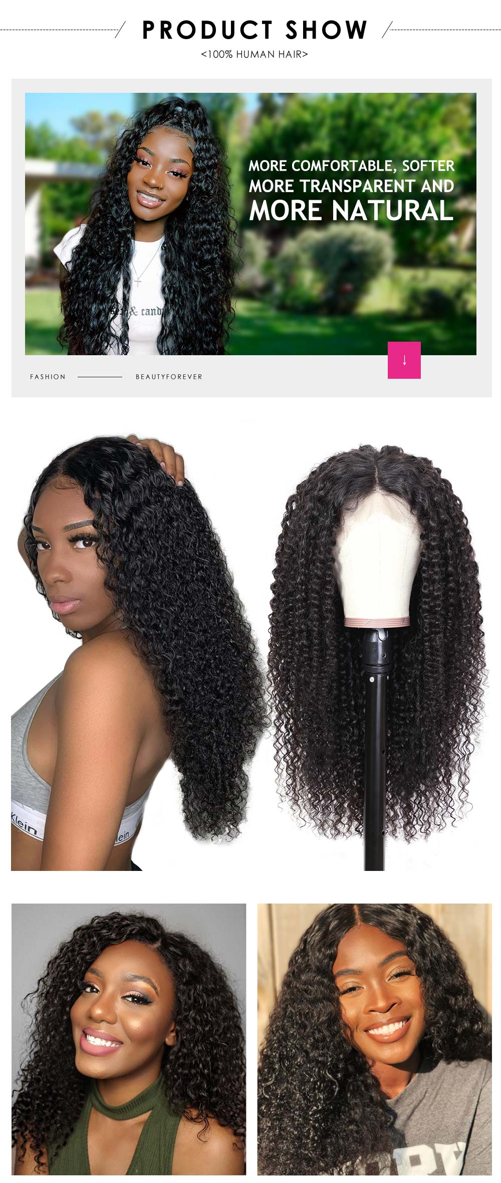 HD jerry curly lace wig