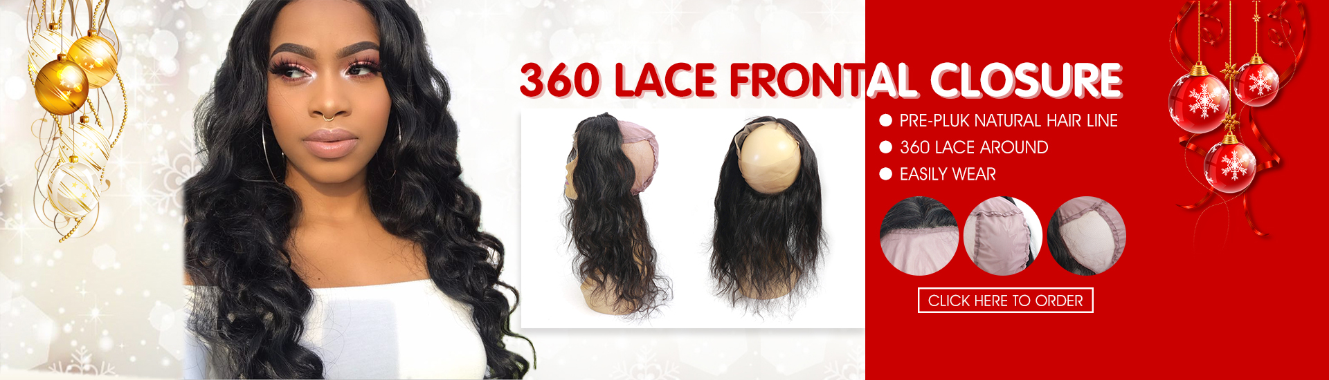 Shop online human hair weavebrazilian hairvirgin hairhair 360 lace frontal closure hair extensions pmusecretfo Gallery
