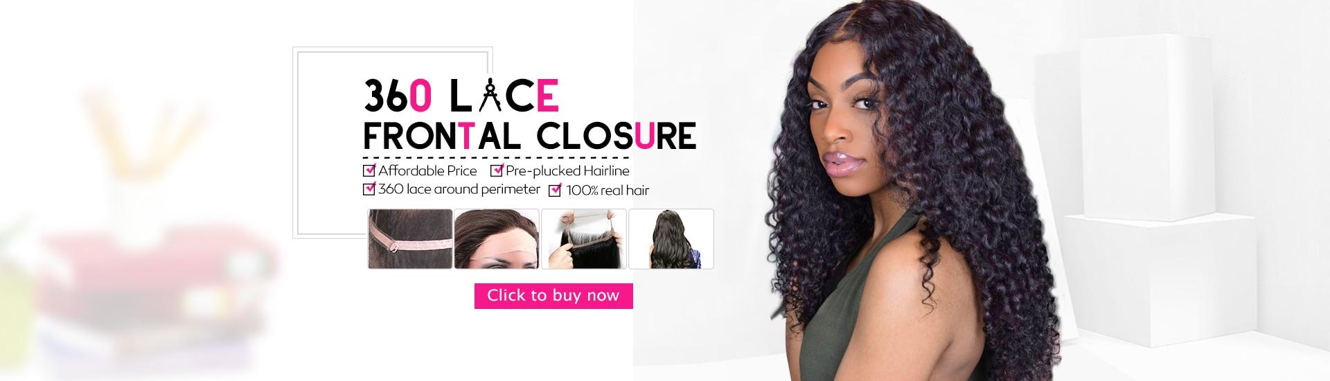 Shop online human hair weavebrazilian hairvirgin hairhair 360 lace frontal closure pmusecretfo Image collections