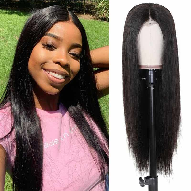 straight wave wigs