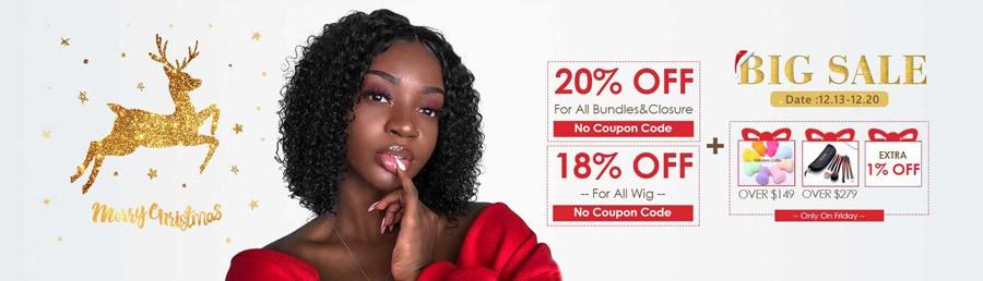 Christmas hair Sale