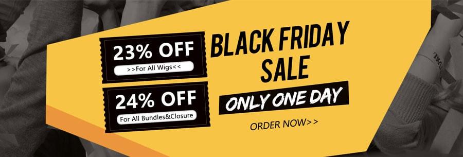 Black Friday Wigs sale