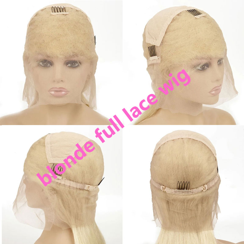 blonde full lace wig cap constructure