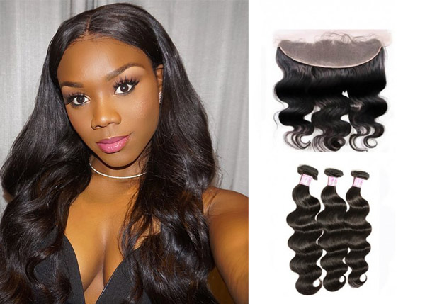 body wave closure with bundles