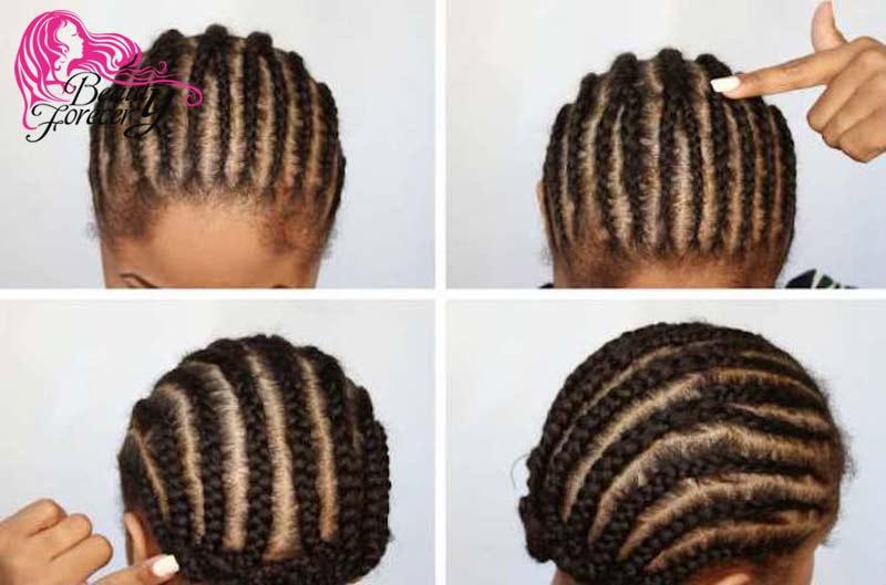 braid your hair flat