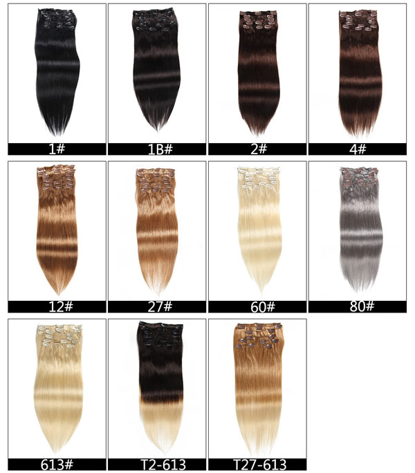 clip in hair extensions Christmas sale