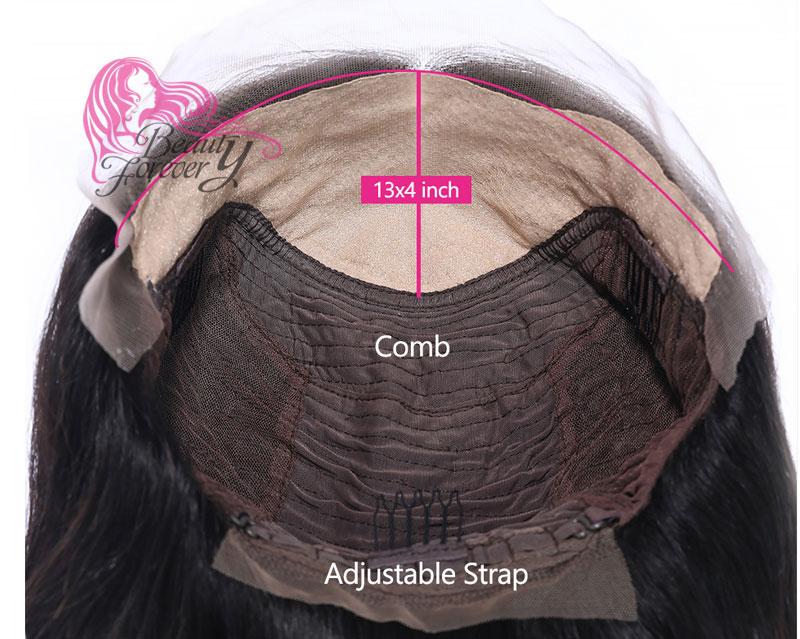 fake scalp wig cap construction