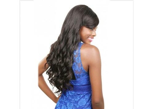 long natural wave wig