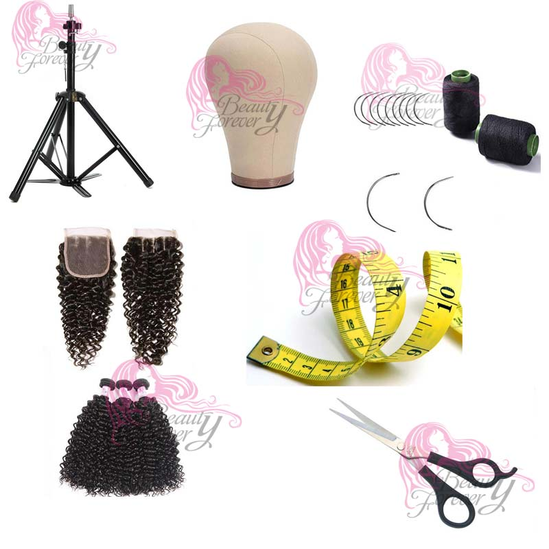 materials for making a wig