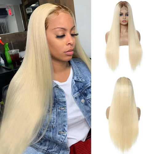 ombre blonde lace front wigs