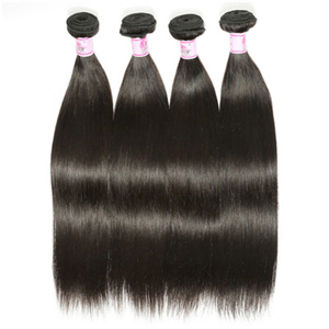 Beautyforever Brazilian Straight Hair 3Bundles Deals Unprocessed Virgin Hair Weave