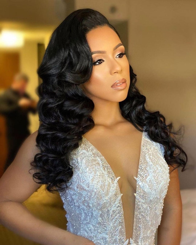transparent lace wigs for wedding