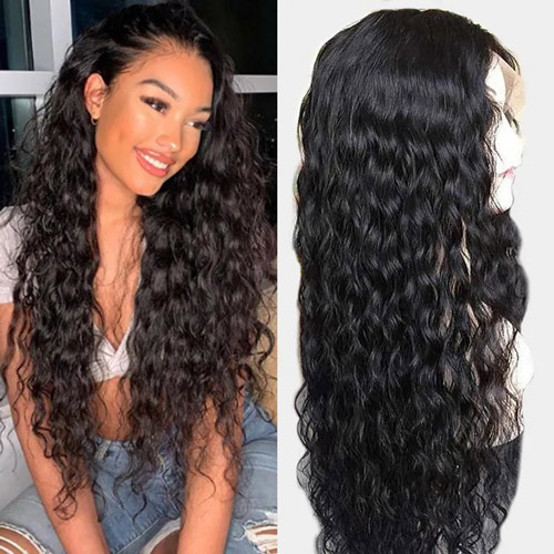 water wave 13x4 lace fronta wigs