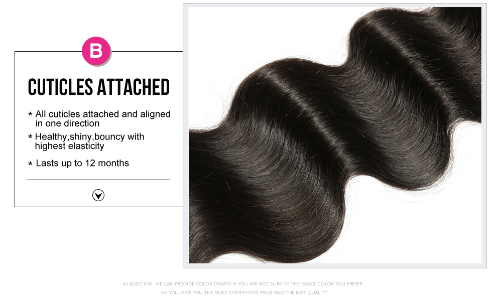 100% Unprocessed Human Hair Weave