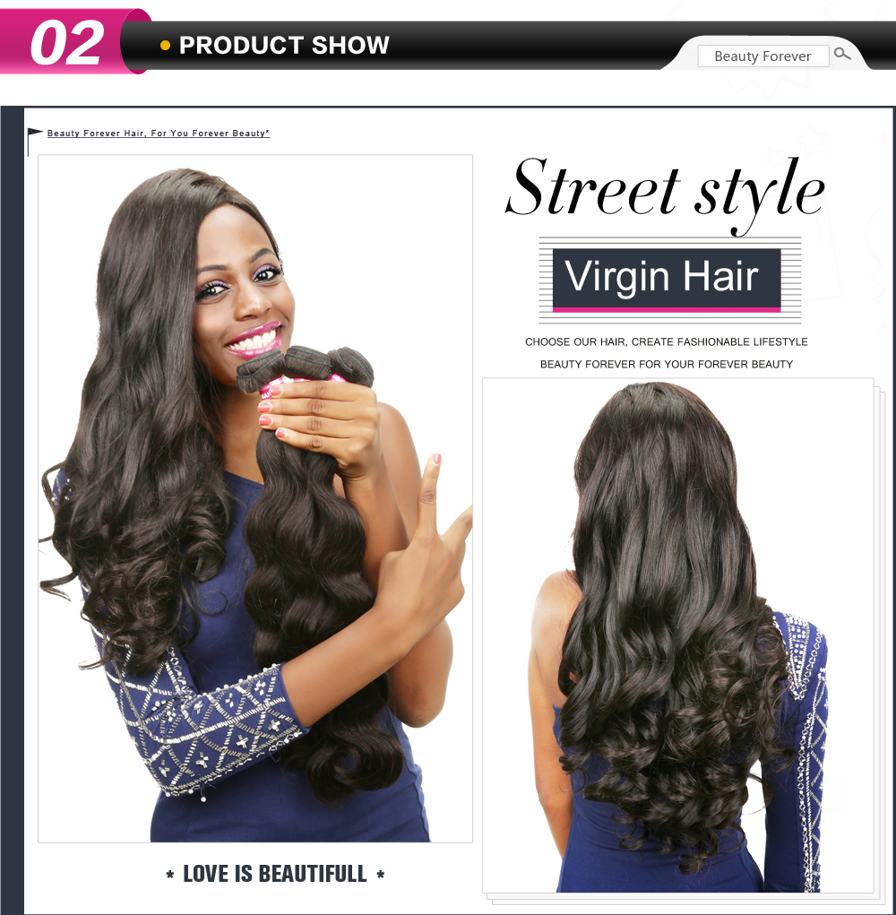 Virgin Hair 3Bundles 8-30 Inches