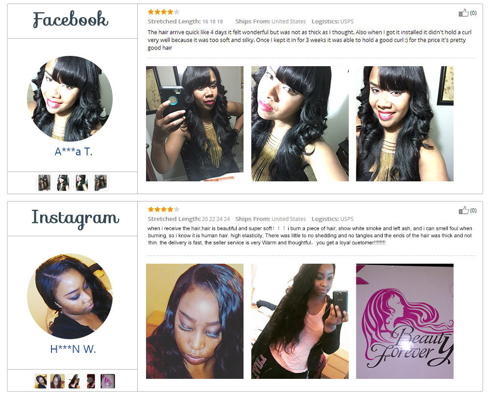 Peruvian Hair Loose Wave 3Bundles
