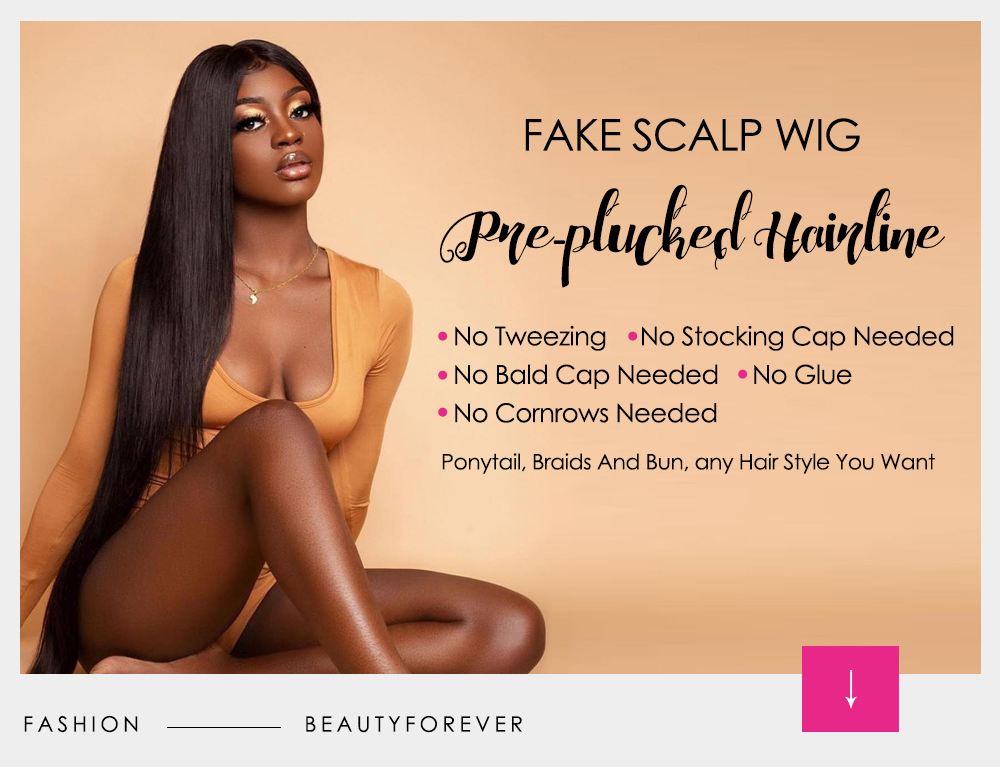 Fake Scalp Wigs