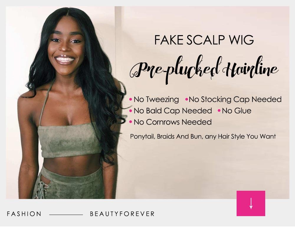 Fake Scalp Wigs