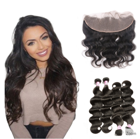 lace frontal and hair bundles