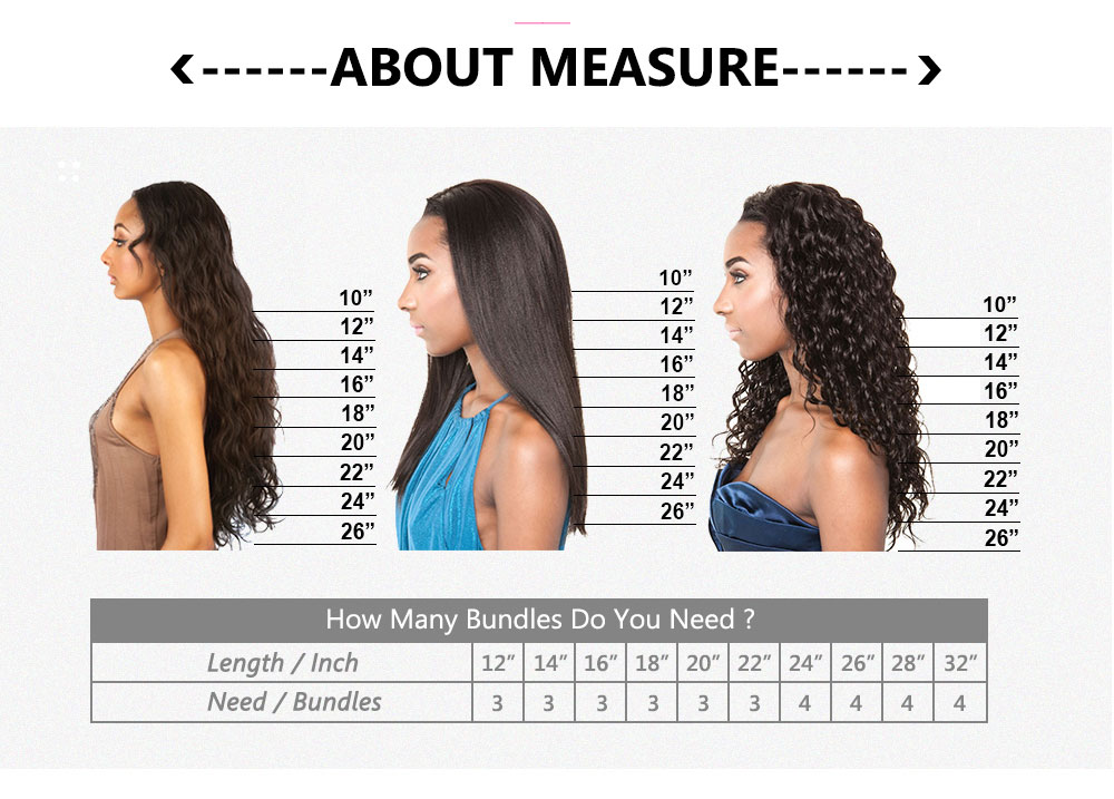 straight hair 4 bundles human hair