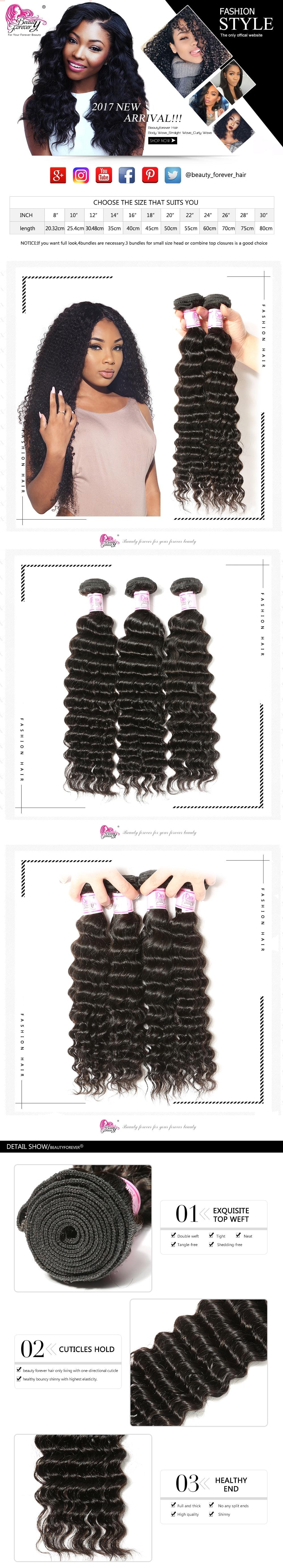 Virgin Indian Deep Wave Hair