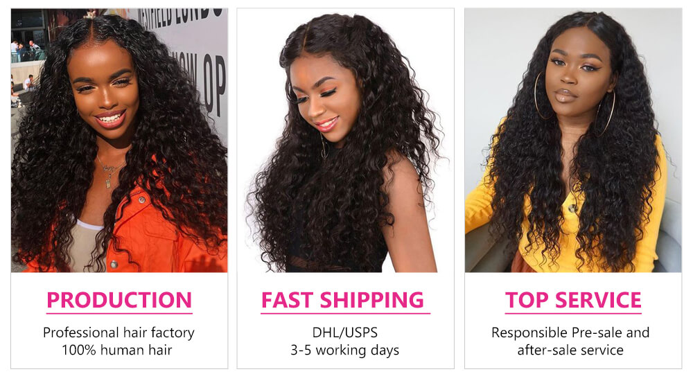 curly hair 13x4 lace closure
