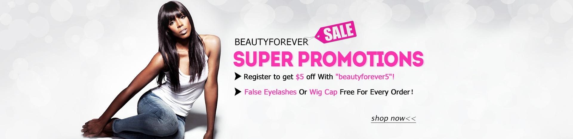 virgin human hair promotion