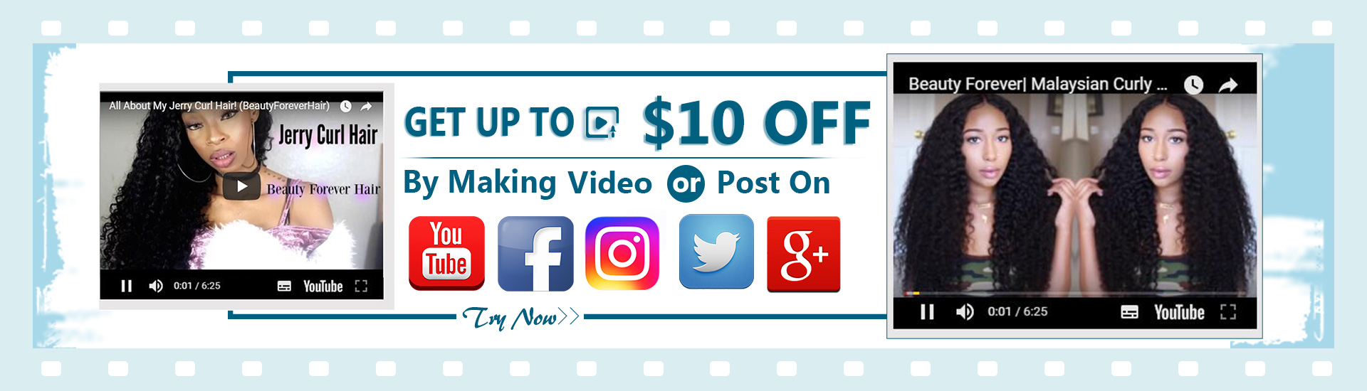 video/post discount