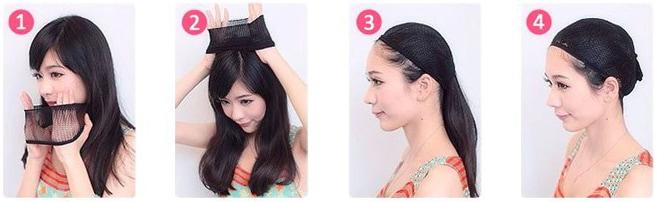 Hairnet worn methods