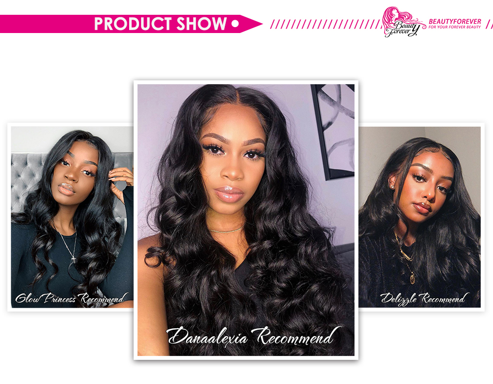 Body wave 13x4 lace frontal