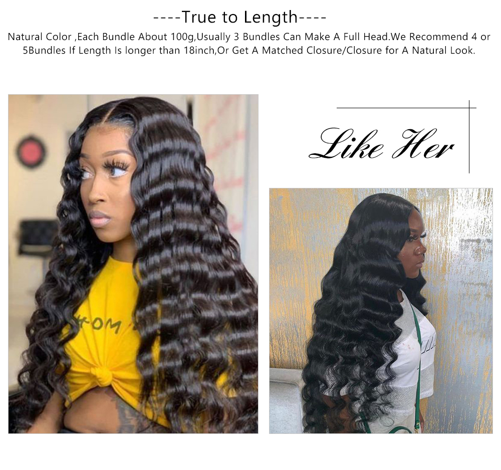 deep wave bundles with 4x4 closure