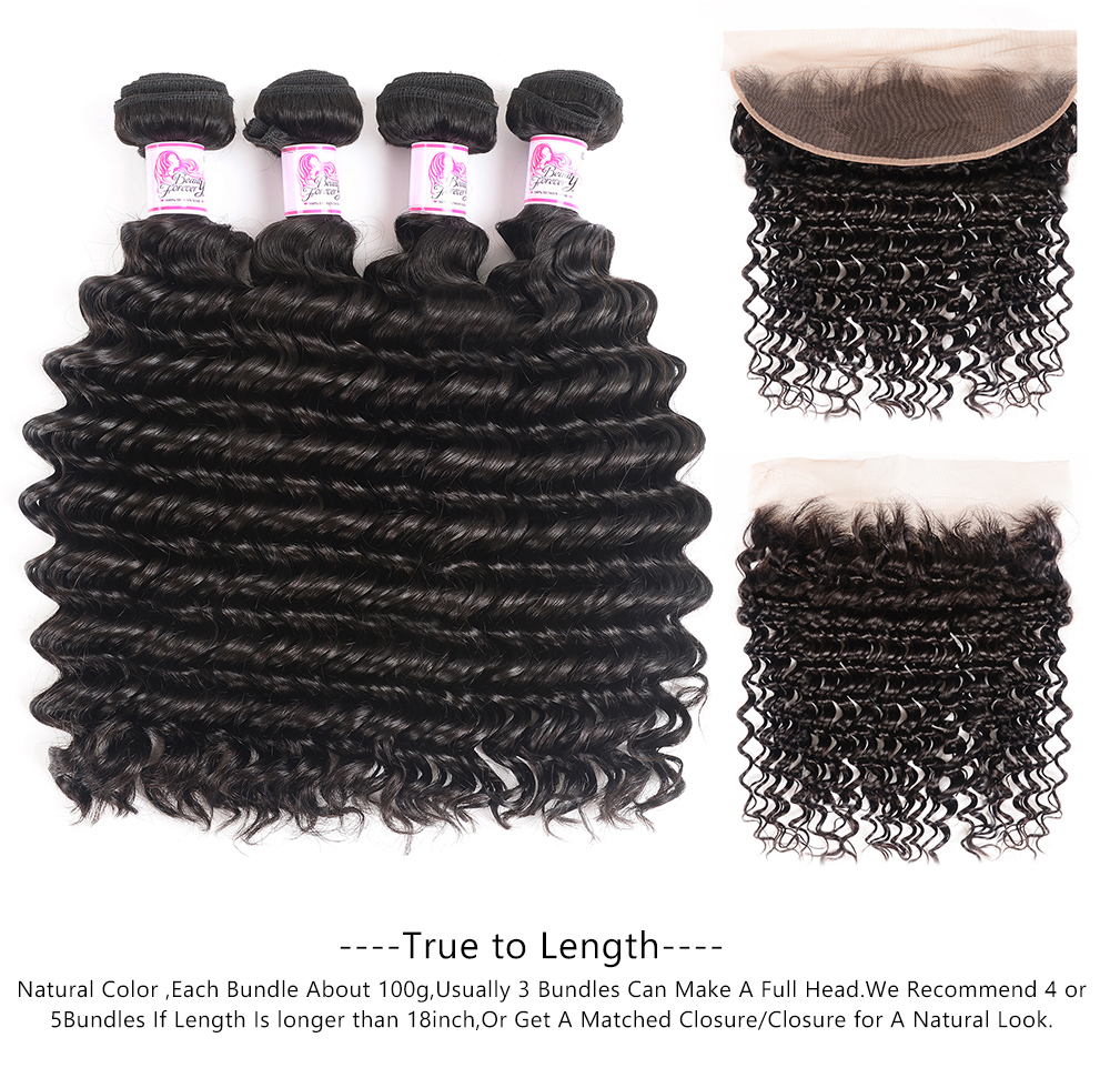 deep wave 13x4 lace frontal
