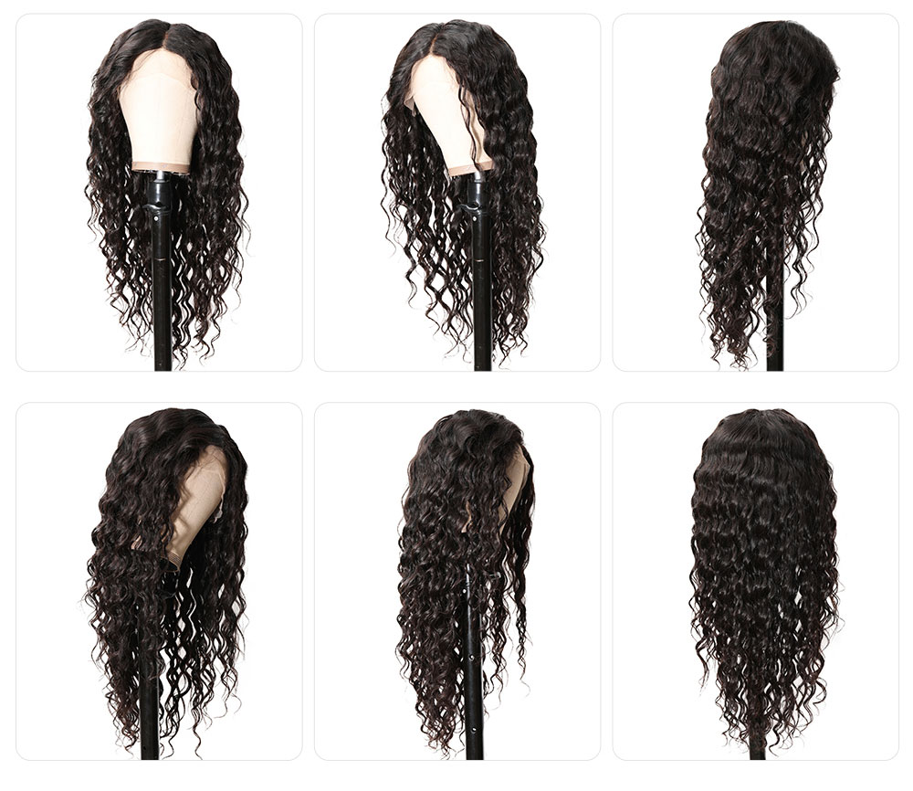 deep wave 13x4 lace front wigs