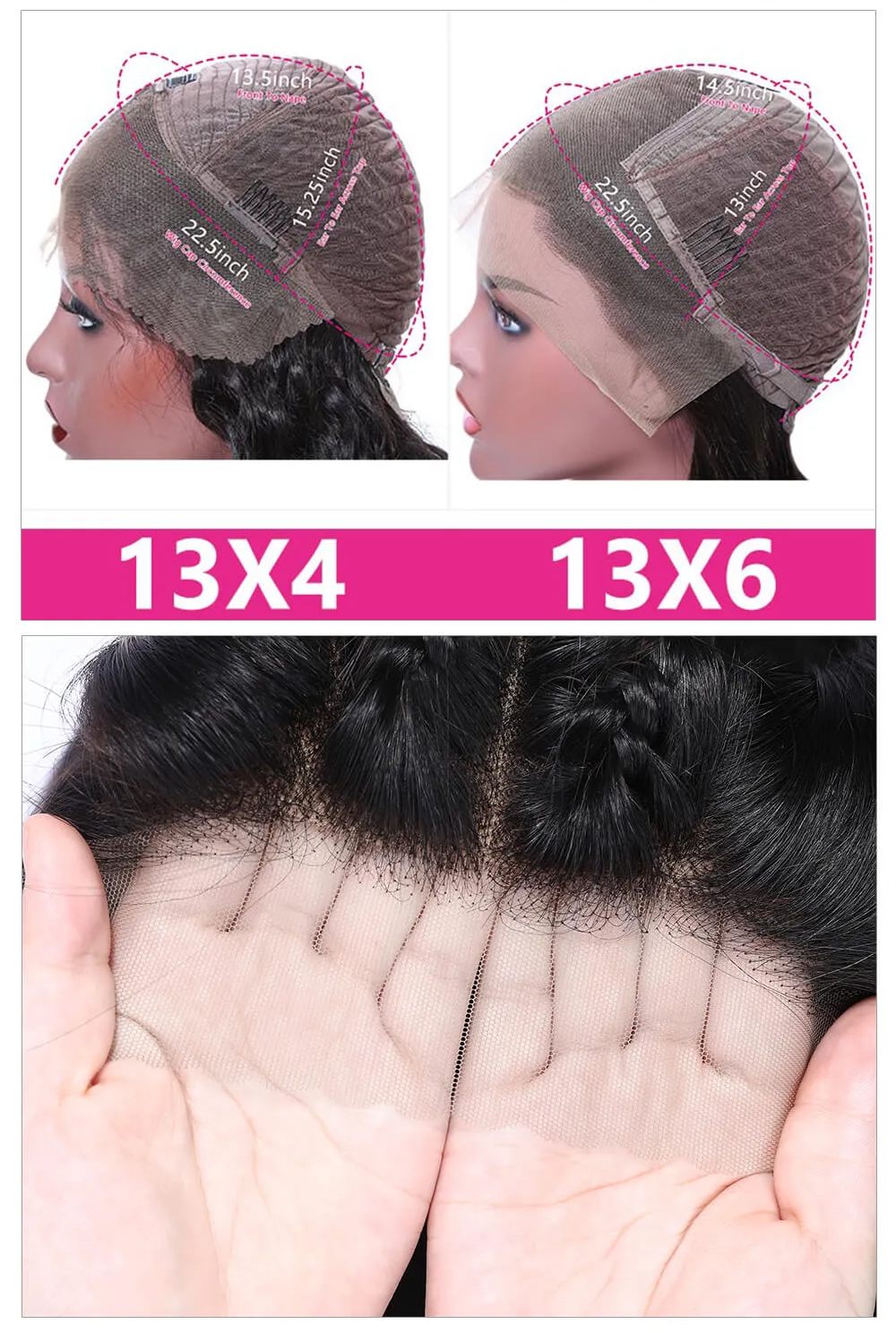 HD Lace Frontal wigs