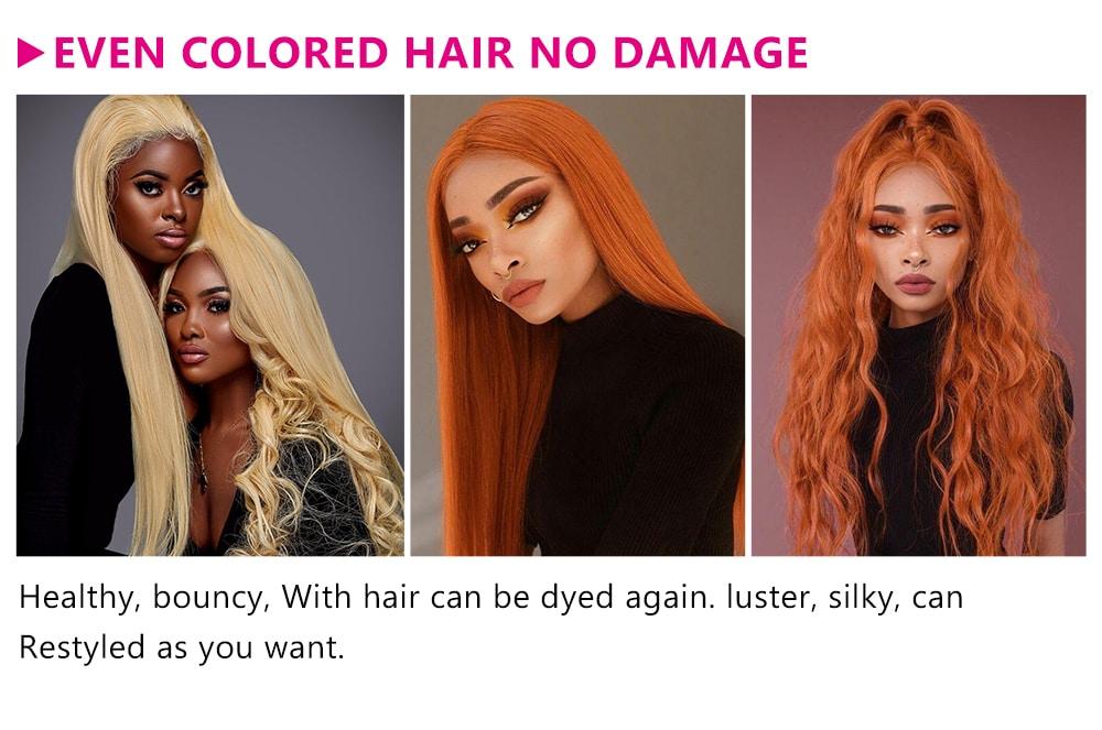 Gluless Human Hair Wigs