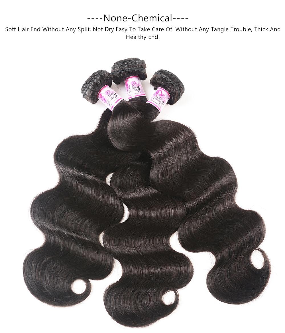 Body wave 3bundles human hair