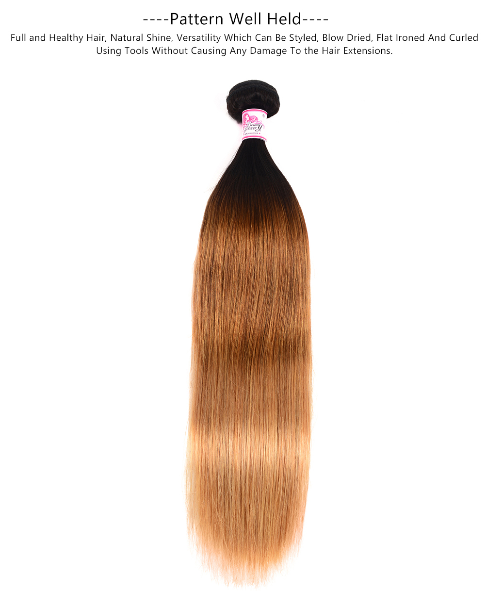 omber straight hair weave