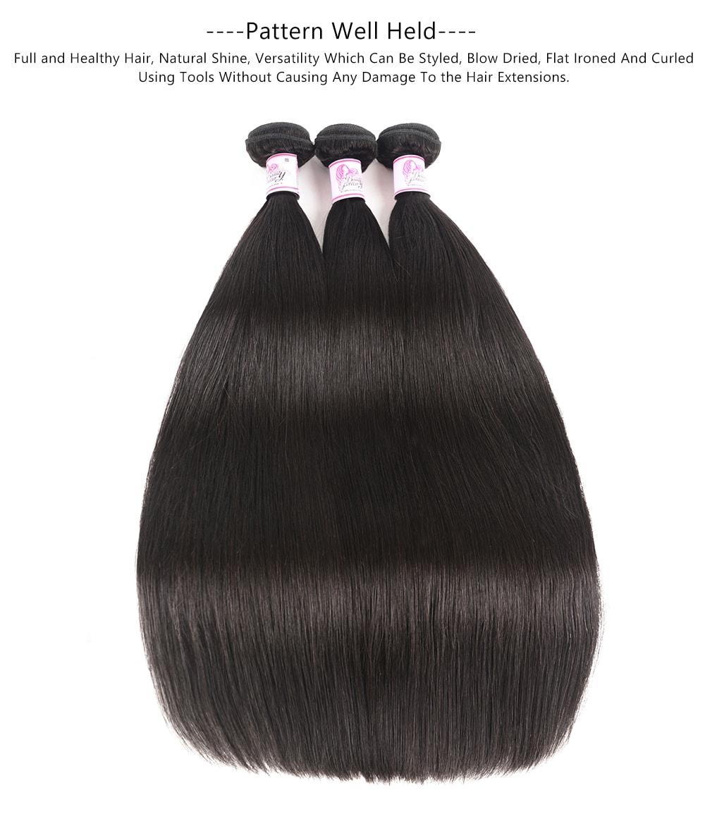 Straight 3Bundles human hair