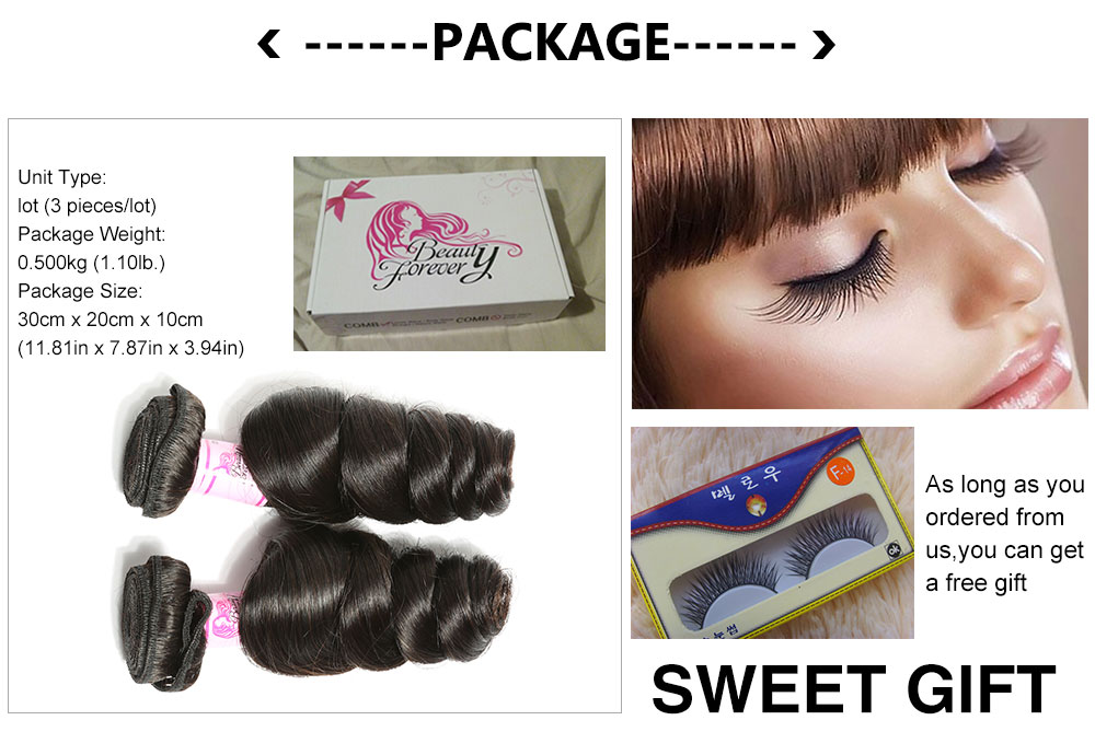 loose wave hair 3 bundles