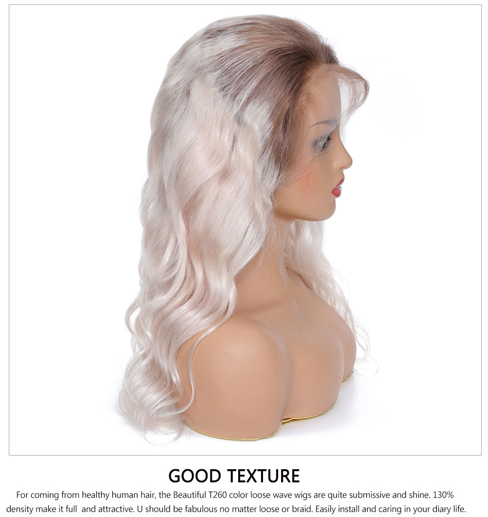 loose wave lace front wigs