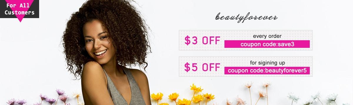 human hair promotion