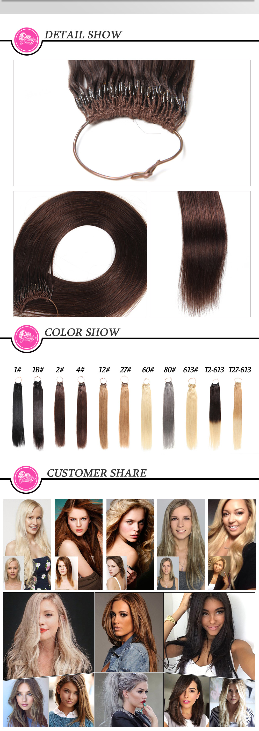 Peruvian Straight Hair Weave Extensions