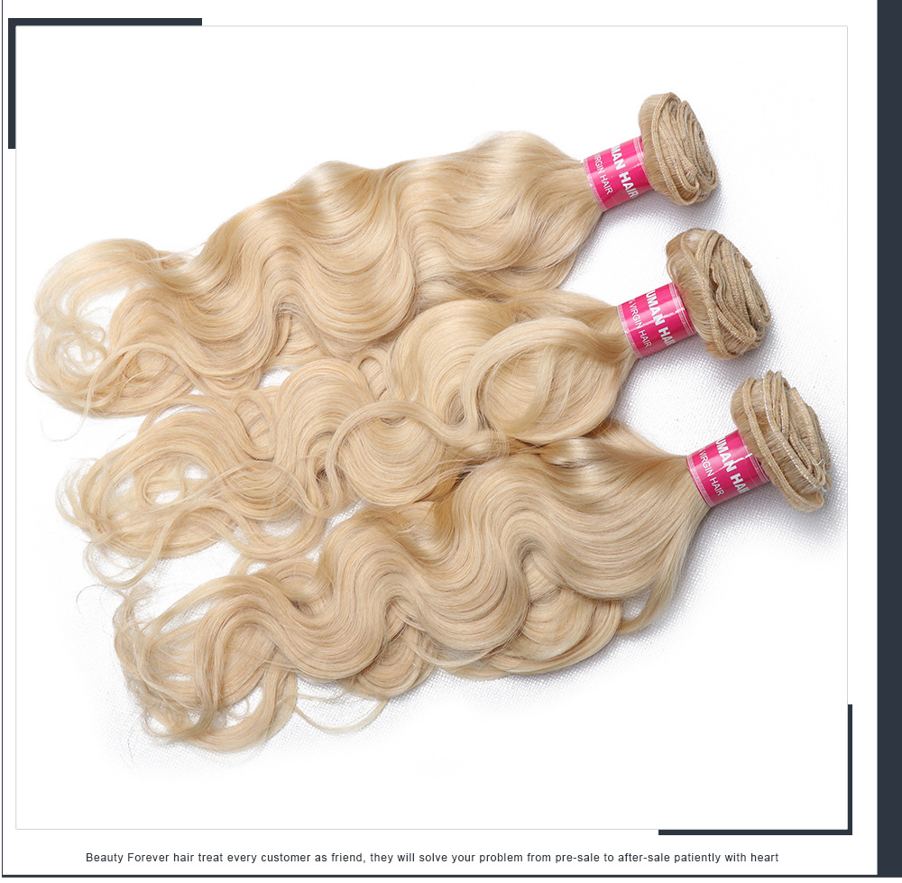 Blonde Hair 3 Bundles