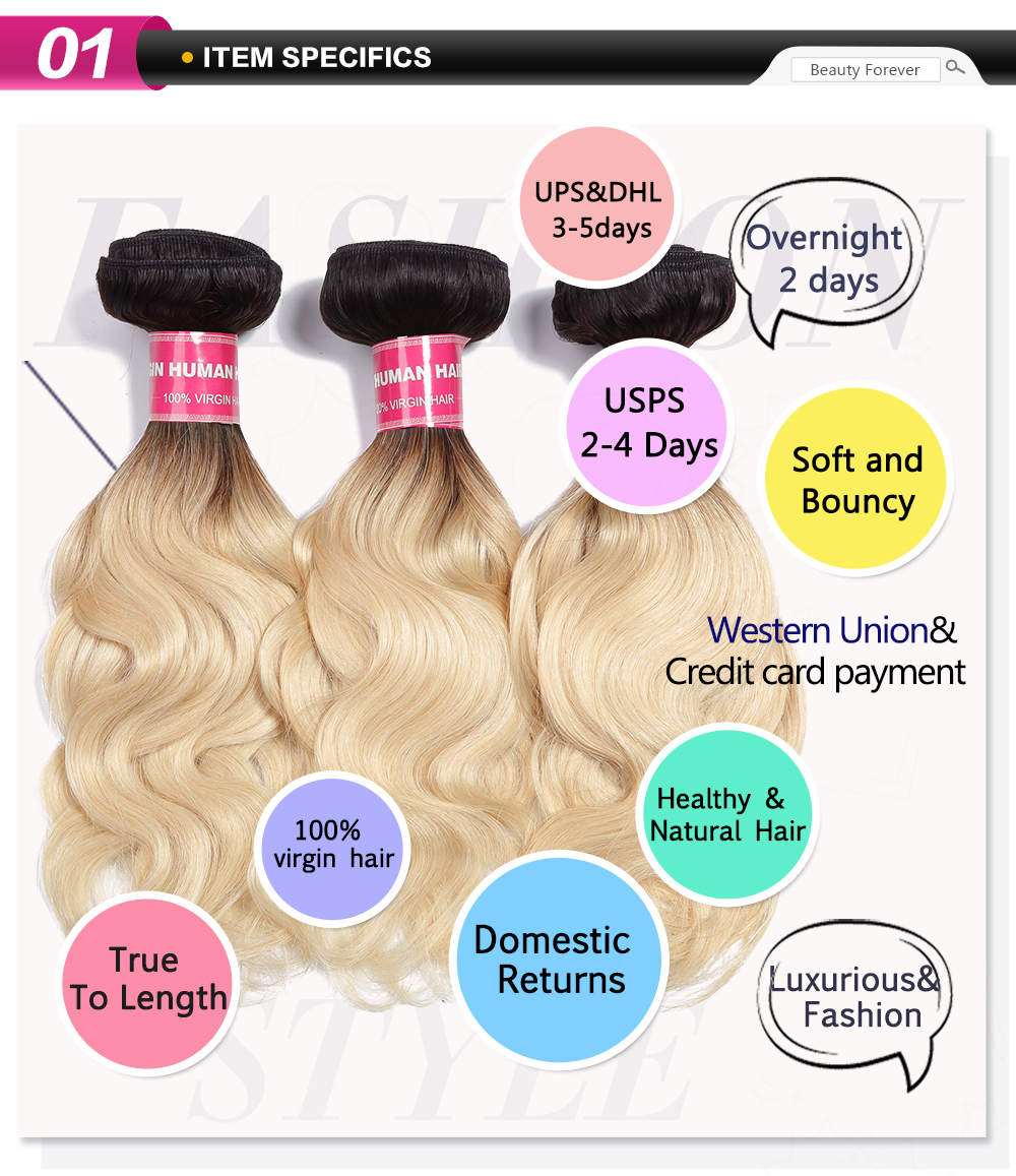 beautyforever human hair wave